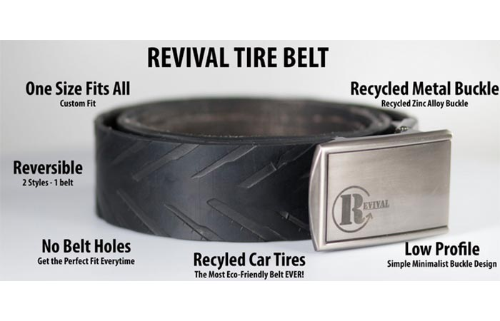 Features of the Revival Tire Belt