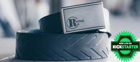 Revival Tire Belt | 100% Recycled Belt