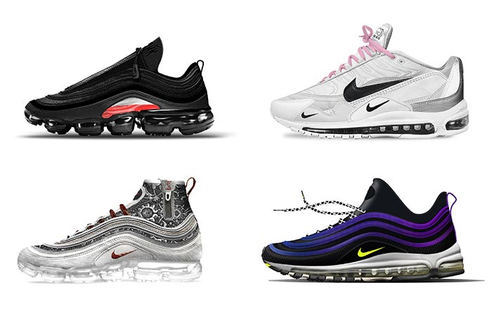 four Revolutionairs Nike designs