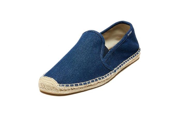 blue Soludos shoe