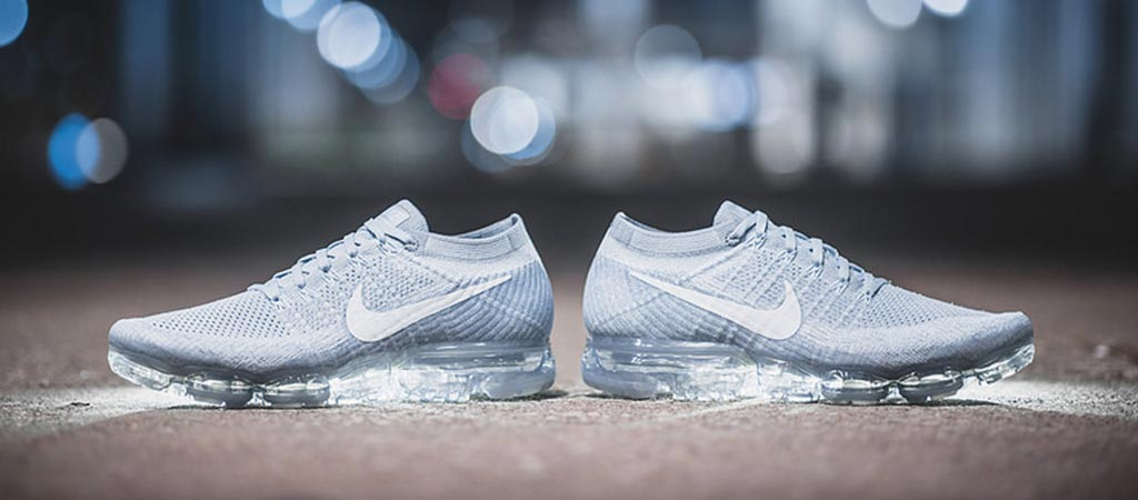 Nike VaporMax Flyknit Pale Grey Sneaker News Cheap Air Vapormax