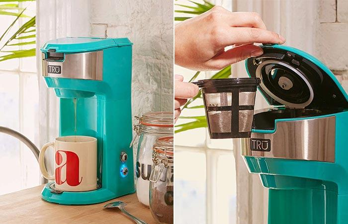 TRU Single Brew Coffee Maker