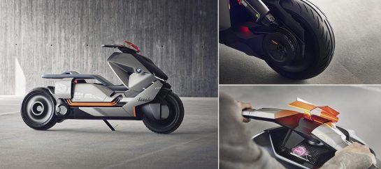 BMW Motorrad Zero-emission Concept Link Bike