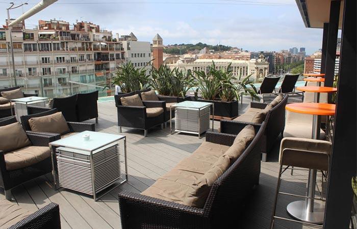 B-Bar Terrace @ Hotel B