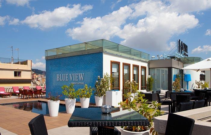 Blue View Terrace @ Hotel Casa Fuster