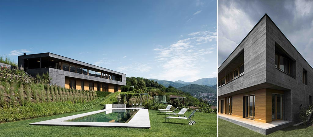 Comano Villa In Switzerland