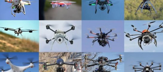 different types of drones for photography