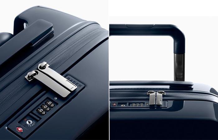 details of Raden suitcase
