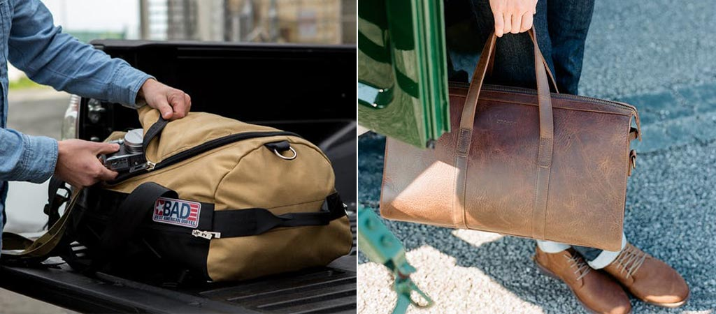Huckberry Duffel Bags For All Occasions