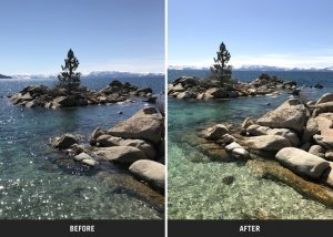 Reducing glare & reflections