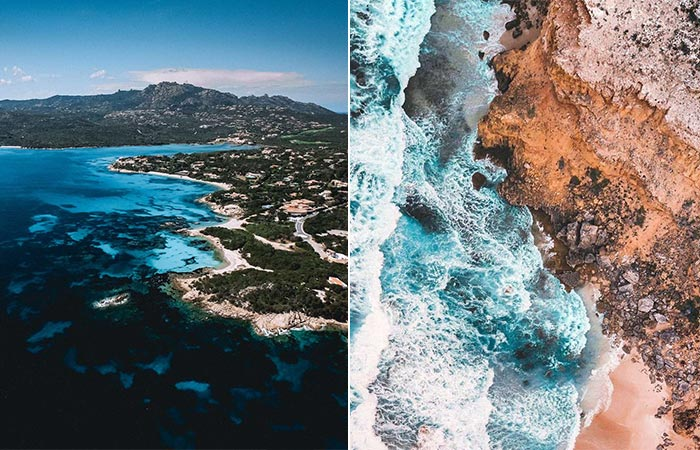 footage taken with Sandmarc Aerial Filter Pack For DJI Mavic