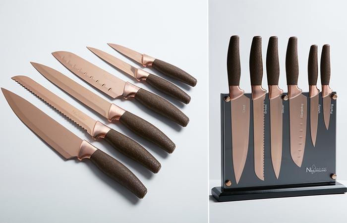 New England 7 Piece Knife Set