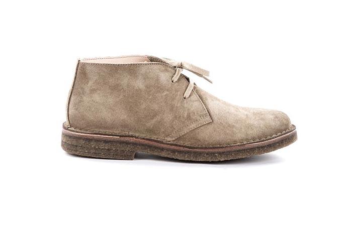 stone Astorflex Greenflex boot from huckberry