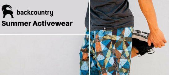 Backcountry Summer Activewear