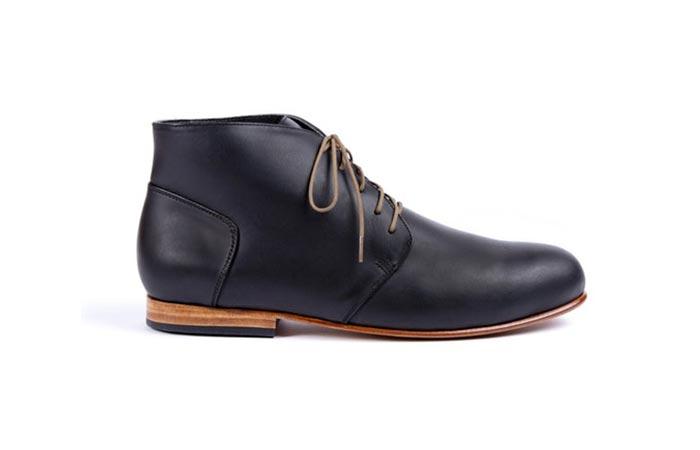 black Nisolo Emilio Le Chukka boot from huckberry