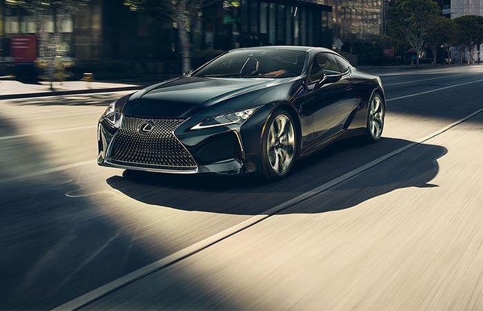 Lexus LC exterior