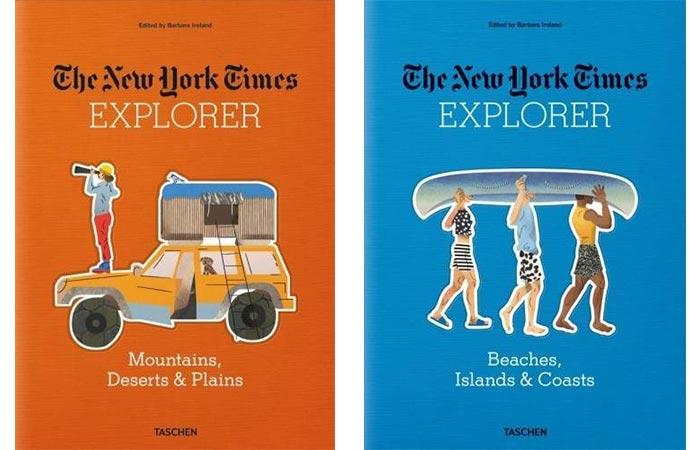 The New York Times Explorer Books