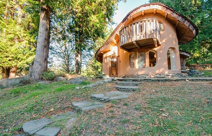 Unique Cob Cottage