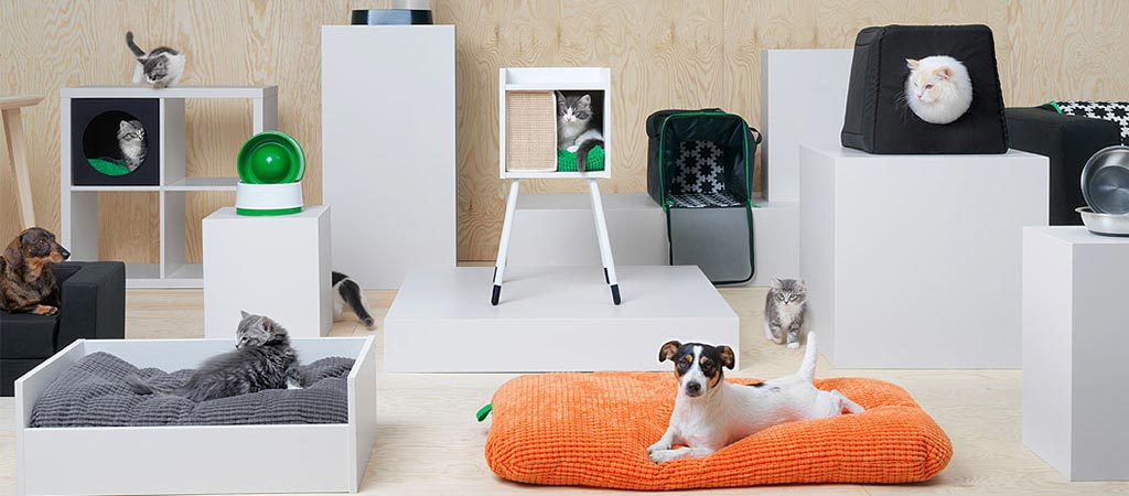 Ikea Launches A Pet Collection Called Lurvig