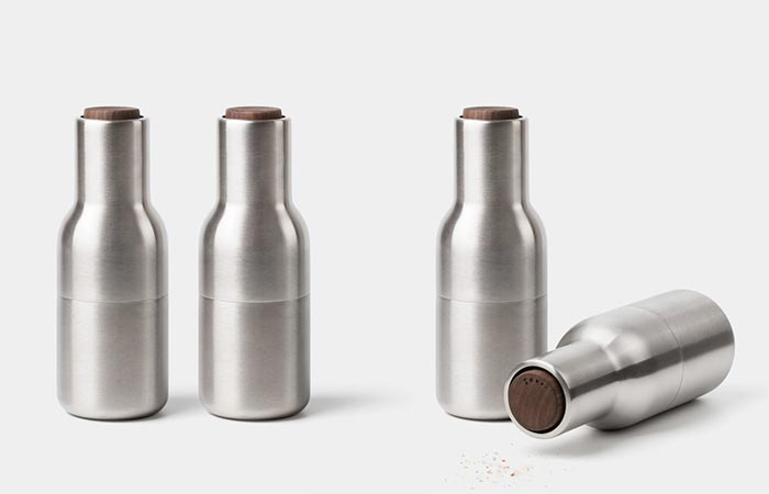 two sets of Stainless Steel Bottle Grinders