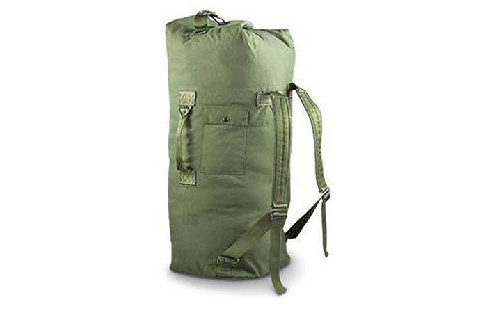 Military Outdoor Clothing Duffle Bag
