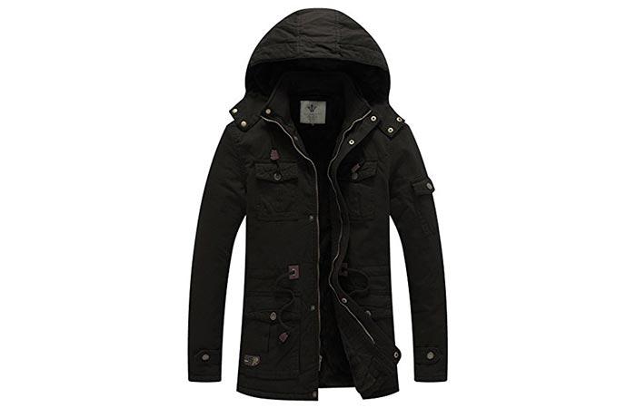 WenVen Cotton Parka Jacket