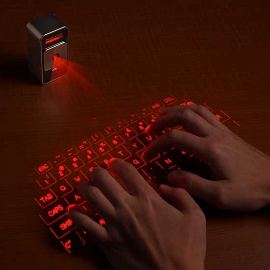 Laser keyboard for Ipad