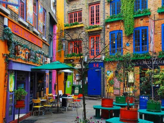 Neals Yard Salad Bar Covent Garden London