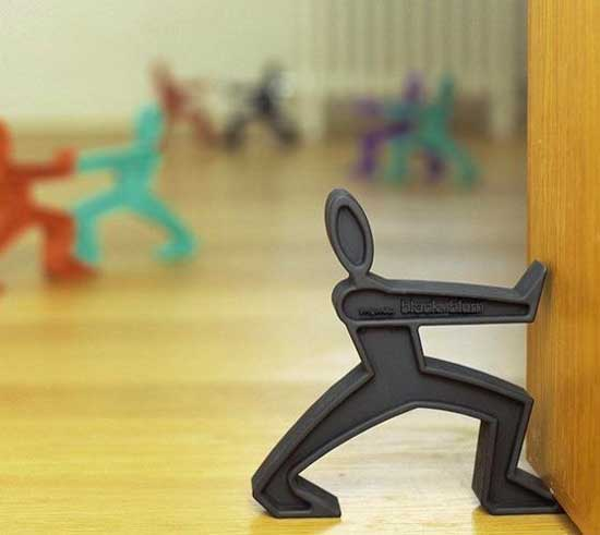 Plastic men door holder