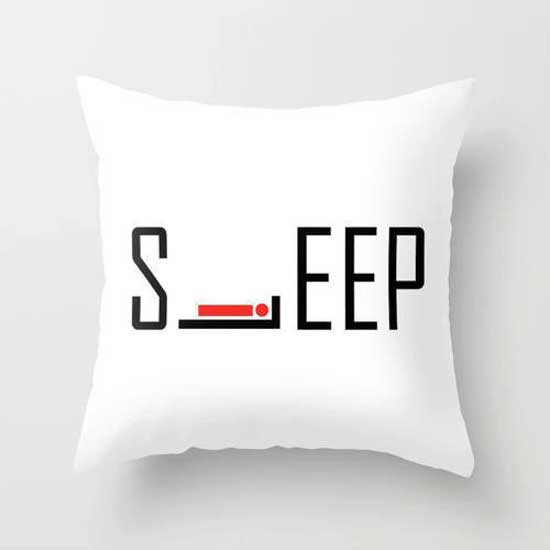 Sleep pillow design