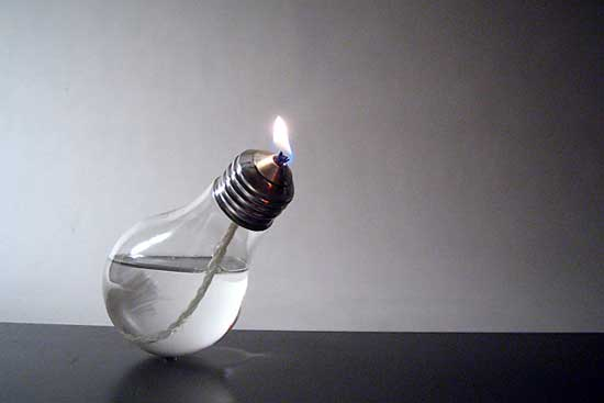 light bulb creative design