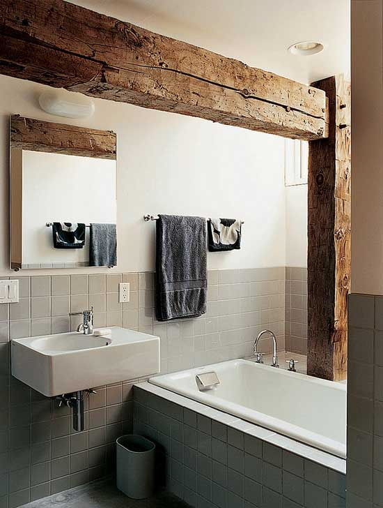 white tub sink bathroom design