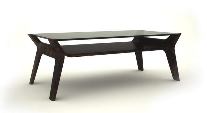 angle view of the Delgado table