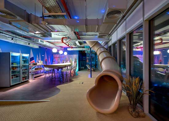 Google Tel Aviv Slide