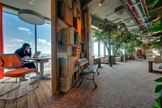 Google Tel Aviv Camenzind Evolution Offices