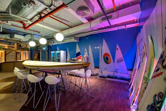 Google Tel Aviv Meeting Room