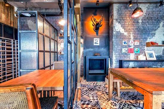 Google Tel Aviv Dining Area