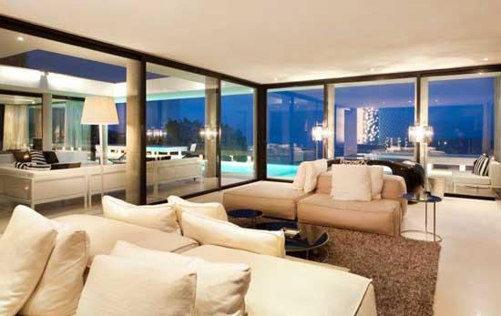 Ibiza Casa Del Art Villa Living Room