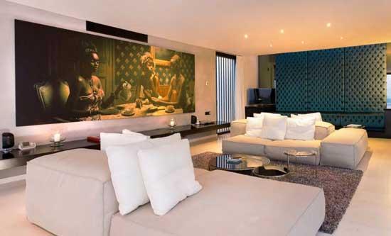 Ibiza Casa Del Art Villa Living Room 2