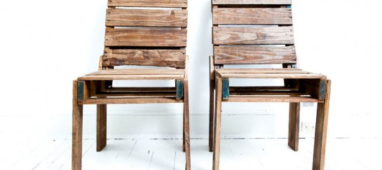 Pallet Chairs by Clarke Titus from Rough South Home