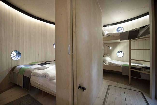 Treehotel Sweden Bird's Nest Interior
