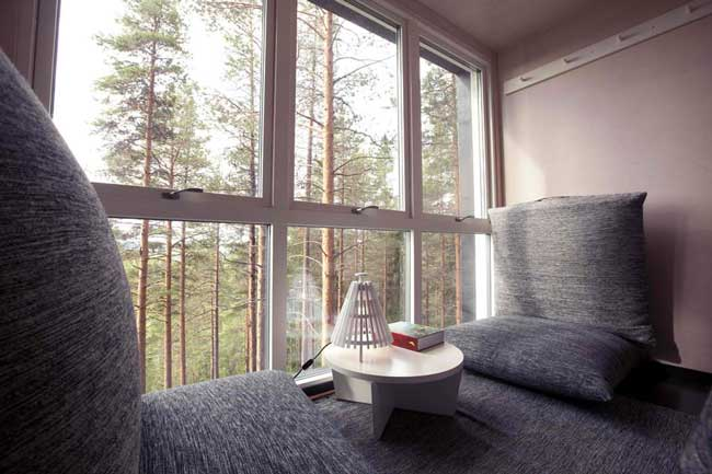 Treehotel Sweden Cabin Interior