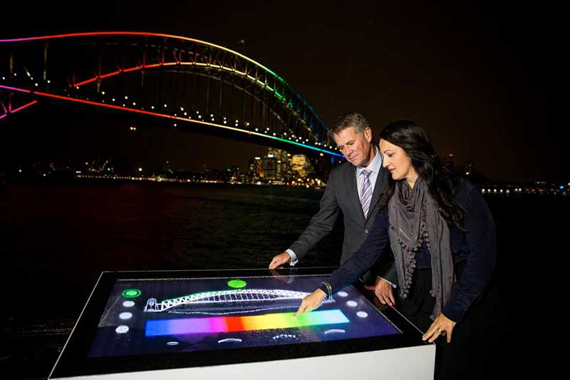 Vivid Light Up bridge Controls