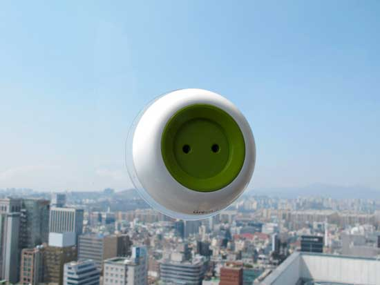 Solar Energy Powered Socket by Kyuho Song & Boa Oh