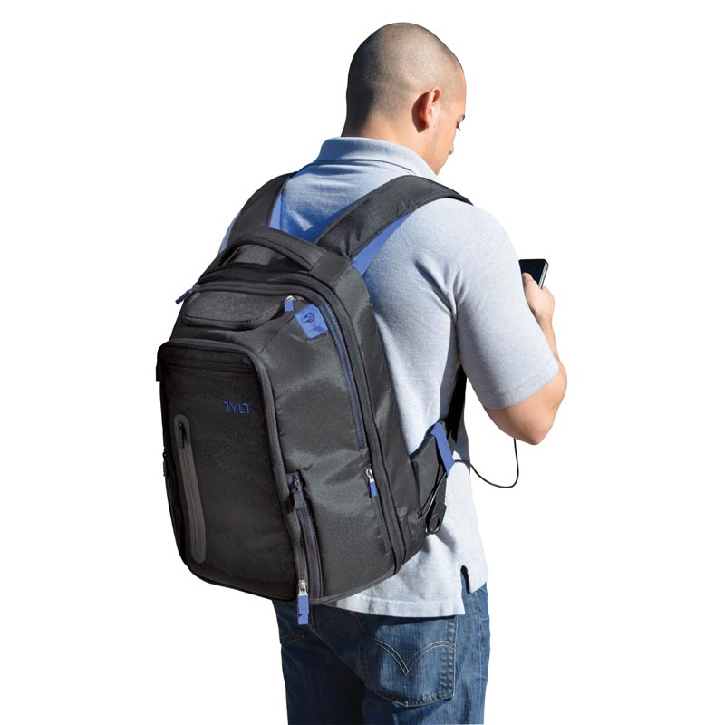 a man wearing an ENERGI+ Backpack