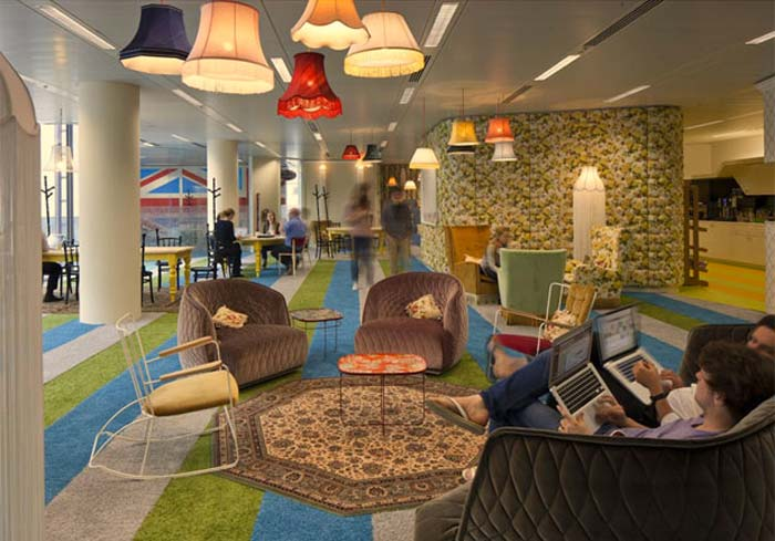 Google S London Headquarter By Penson Group