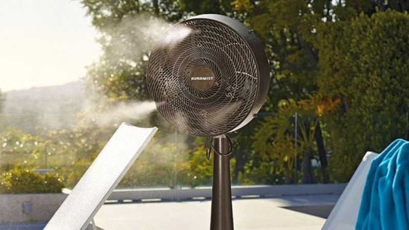 Hoseless Portable Dry Mist Fan By Auramist