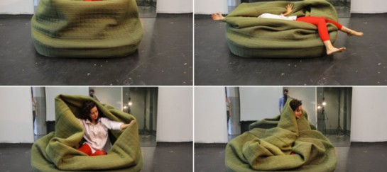 'Moody Nest' by German Designer Hanna Ernsting (VIDEO)