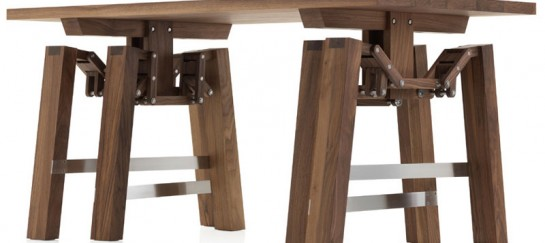 Walking Table by Wouter Scheublin (VIDEO)