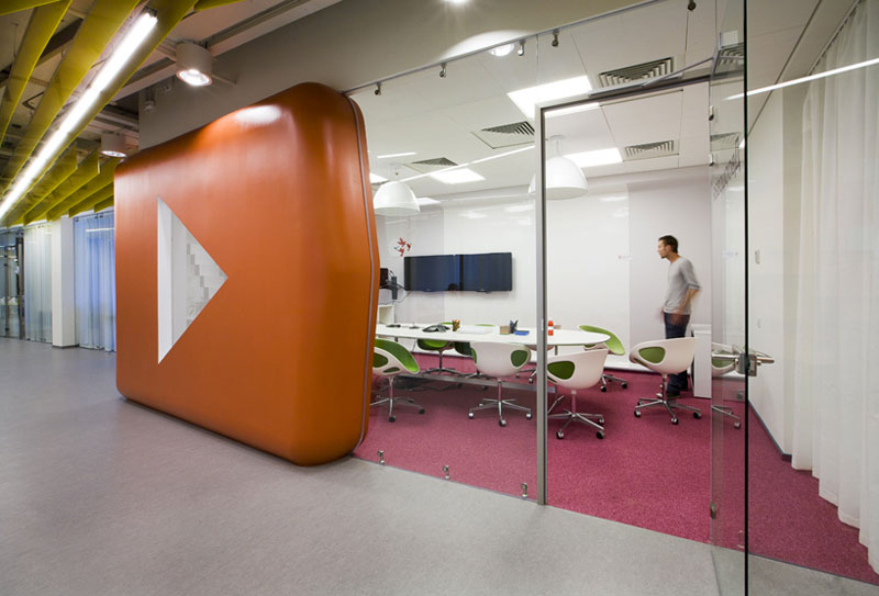Yandex Office Za Bor Conference Room